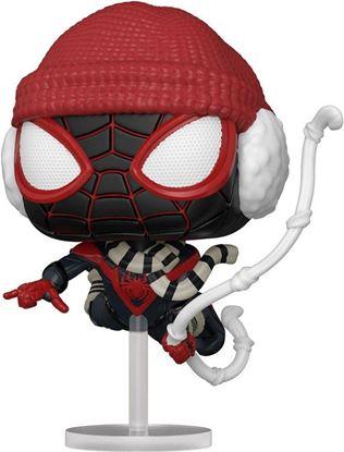 Picture of Marvel's Spider-Man POP! Games Vinyl Figura Miles Morales Winter Suit 9 cm