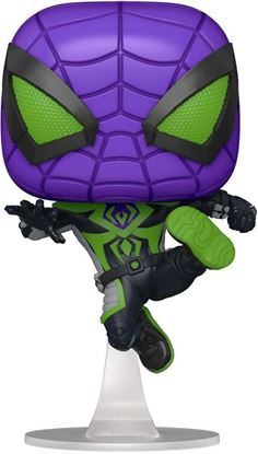 Picture of Marvel's Spider-Man POP! Games Vinyl Figura Miles Morales Purple Suit 9 cm. DISPONIBLE APROX: JUNIO 2021
