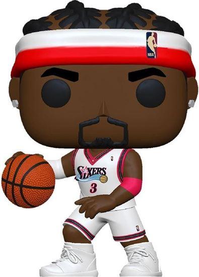Picture of NBA Legends POP! Sports Vinyl Figura Allen Iverson (Sixers Home) 9 cm