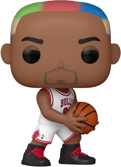 Picture of NBA Legends POP! Sports Vinyl Figura Dennis Rodman (Bulls Home) 9 cm