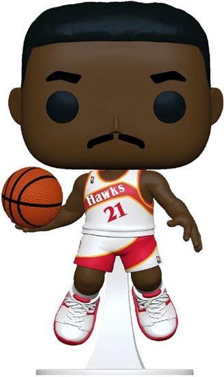 Picture of NBA Legends POP! Sports Vinyl Figura Dominique Wilkins (Hawks Home) 9 cm