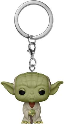 Picture of Star Wars Llavero Pocket POP! Vinyl Yoda 4 cm. DISPONIBLE APROX: JUNIO 2021