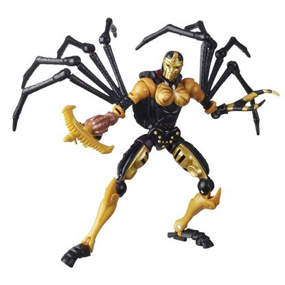 Picture of Transformers Generations War for Cybertron: Kingdom Figuras Deluxe Class 2021 Wave 1 BLACKARACHNIA