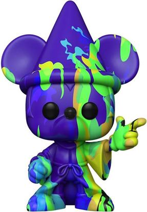 Picture of Fantasia 80th Anniversary POP! TV Vinyl Figura Sorcerer Mickey #2 (Art Series) with Pop Protector 9 cm