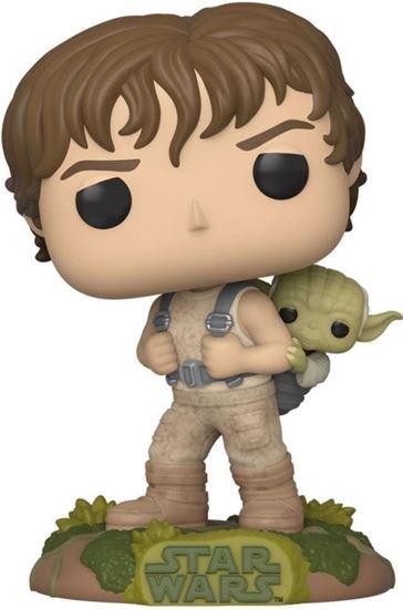 Picture of Star Wars POP! Movies Vinyl Figura Training Luke with Yoda 9 cm