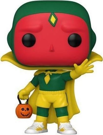 Picture of WandaVision POP! TV Vinyl Figura Vision (Halloween) 9 cm