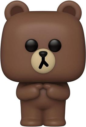 Picture of Line Friends Figura POP! Animation Vinyl Brown 9 cm. DISPONIBLE APROX: JULIO 2021