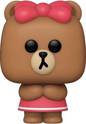 Picture of Line Friends Figura POP! Animation Vinyl Choco 9 cm. DISPONIBLE APROX: JULIO 2021