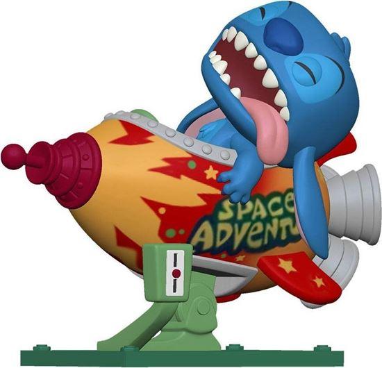 Picture of Lilo & Stitch POP! Disney Rides Vinyl Figura Stitch in Rocket 15 cm
