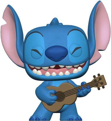 Picture of Lilo & Stitch POP! Disney Vinyl Figura Stitch with Ukelele 9 cm