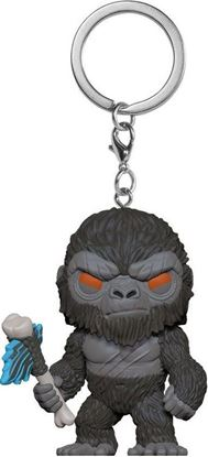 Picture of Godzilla Vs Kong Llavero Pocket POP! Vinyl King Kong with Axe 4 cm. DISPONIBLE APROX: JULIO 2021