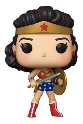 Picture of Wonder Woman 80th Anniversary Figura POP! Heroes Vinyl Classic Wonder Woman Golden Age (1950's) 9 cm