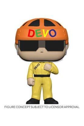 Picture of Devo POP! Rocks Vinyl Figura Satisfaction (Yellow Suit) 9 cm DISPONIBLE APROX: 8/2021