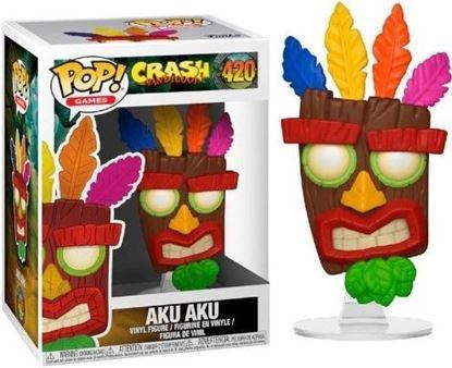 Picture of Crash Bandicoot POP! Games Vinyl Figura Aku Aku 9 cm