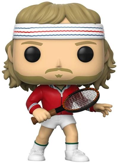 Picture of Tennis Legends POP! Sports Vinyl Figura Björn Borg 9 cm