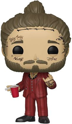 Picture of Post Malone POP! Rocks Vinyl Figura Post Malone 9 cm