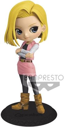 Picture of Figura Q Posket Android 18 (Pink Version B) 14 cm