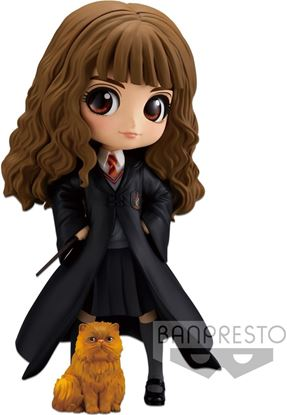 Picture of Figura Q Posket Hermione Granger & Crookshanks 14 cm