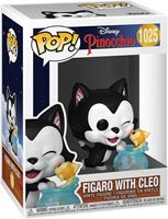 Picture of Pinocchio 80th Anniversary POP! Disney Vinyl Figura Figaro with Cleo 9 cm