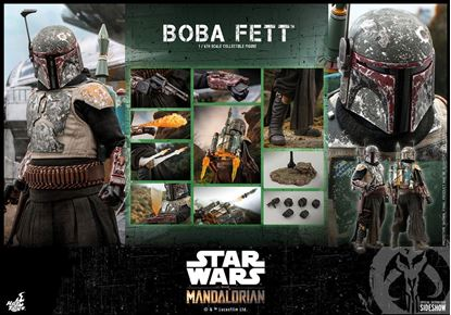 Picture of Star Wars The Mandalorian Figura 1/6 Boba Fett 30 cm RESERVA