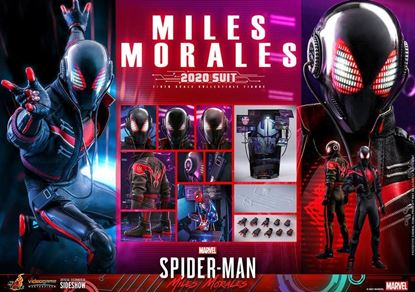 Picture of Marvel's Spider-Man: Miles Morales Figura Video Game Masterpiece 1/6 Miles Morales (2020 Suit)