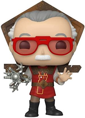 Picture of Stan Lee POP! Icons Vinyl Figura Stan Lee in Ragnarok Outfit 9 cm.