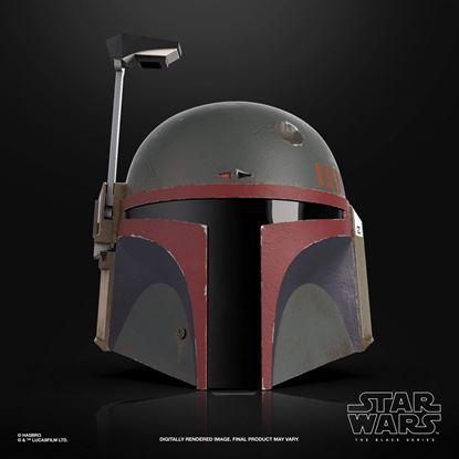 Picture of Star Wars The Mandalorian Black Series Casco Electrónico Boba Fett (Re-Armored)