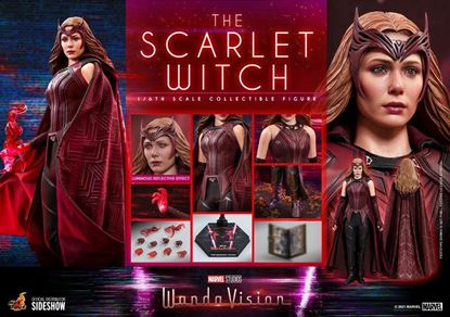 Picture of WandaVision Figura 1/6 The Scarlet Witch 28 cm