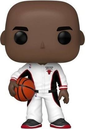 Picture of NBA POP! Sports Vinyl Figura Michael Jordan (Bulls White Warmup Special Edition) 9 cm