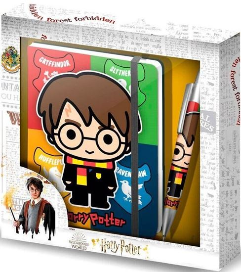 Picture of Cuaderno + Bolígrafo Chibi Wizard - Harry Potter