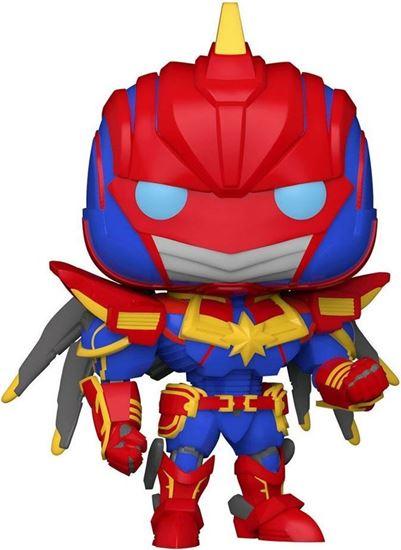 Picture of Marvel Mech Figura POP! Vinyl Captain Marvel 9 cm. DISPONIBLE APROX: JUNIO 2021