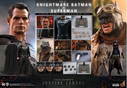 Picture of Zack Snyder's Justice League Pack de 2 Figuras 1/6 Knightmare Batman and Superman 31 cm RESERVA
