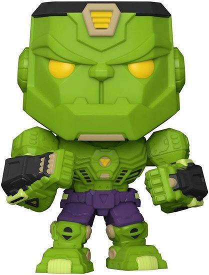 Picture of Marvel Mech Figura POP! Vinyl Hulk 9 cm. DISPONIBLE APROX: JUNIO 2021