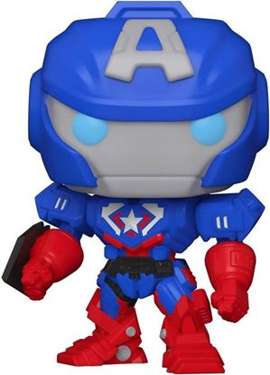 Picture of Marvel Mech Figura POP! Vinyl Captain America 9 cm. DISPONIBLE APROX: JUNIO 2021
