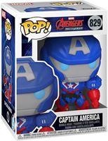 Picture of Marvel Mech Figura POP! Vinyl Captain America 9 cm. DISPONIBLE APROX: JUNIO 2021