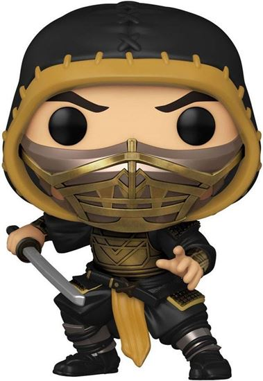 Picture of Mortal Kombat Movie POP! Movies Vinyl Figura Scorpion 9 cm. DISPONIBLE APROX: JUNIO 2021