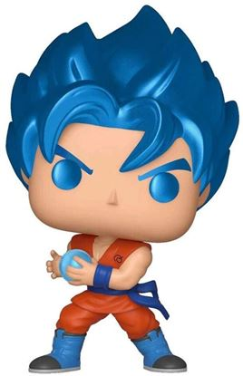Picture of Dragon Ball Super Figura POP! Animation Vinyl SSGSS Goku (Kamehameha) Metalizado Special Edition 9 cm