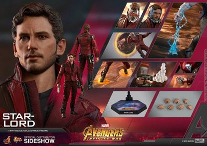 Picture of Vengadores: Infinity War Figura Movie Masterpiece 1/6 Star-Lord 31 cm
