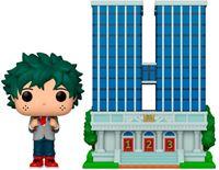 Picture of My Hero Academia POP! Town Vinyl Figura U.A. High School w/Deku in Uniform 9 cm