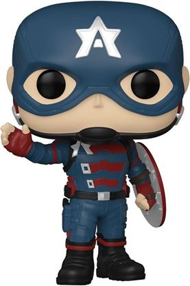 Picture of The Falcon and the Winter Soldier Figura POP! Vinyl Captain America 9 cm. DISPONIBLE APROX: JULIO 2021
