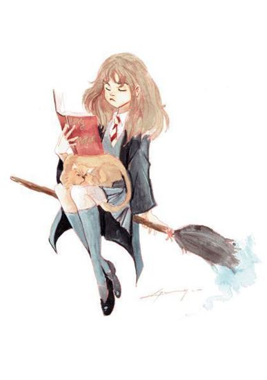 Picture of Ilustración Bruja