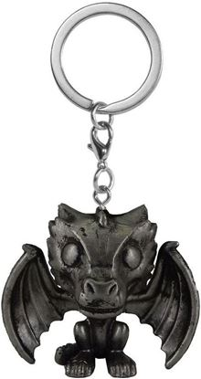 Picture of Juego de Tronos Llavero Pocket POP! Vinyl Drogon (Iron) 4 cm. DISPONIBLE APROX: NOVIEMBRE 2021