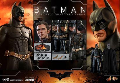 Picture of Batman Begins Figura Movie Masterpiece 1/6 Batman Hot Toys Exclusive 32 cm