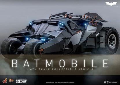 Picture of The Dark Knight Vehículo Movie Masterpiece 1/6 Batmóvil 73 cm