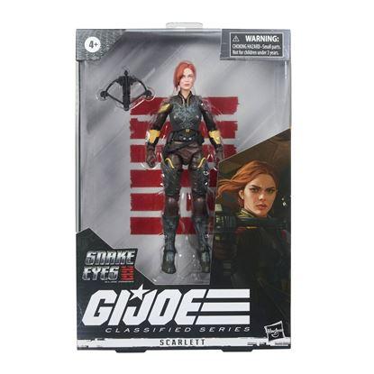 Picture of G.I. Joe Classified Series Snake Eyes: G.I. Joe Origins Figuras 2021 Wave 4  SCARLETT