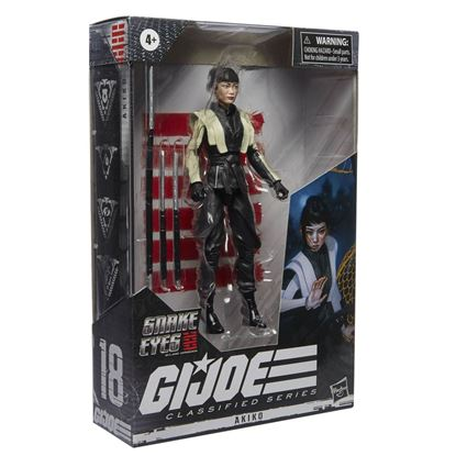 Picture of G.I. Joe Classified Series Snake Eyes: G.I. Joe Origins Figuras 2021 Wave 4  AKIKO