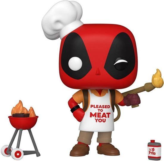 Picture of Marvel Deadpool 30th Anniversary Figura POP! Vinyl Backyard Griller Deadpool 9 cm