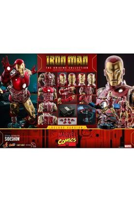 Picture of Marvel The Origins Collection Comic Masterpiece Figura 1/6 Iron Man Deluxe Version 33 cm
