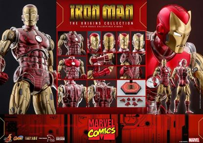 Picture of Marvel The Origins Collection Comic Masterpiece Figura 1/6 Iron Man 33 cm