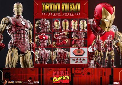 Picture of Marvel The Origins Collection Comic Masterpiece Figura 1/6 Iron Man 33 cm RESERVA